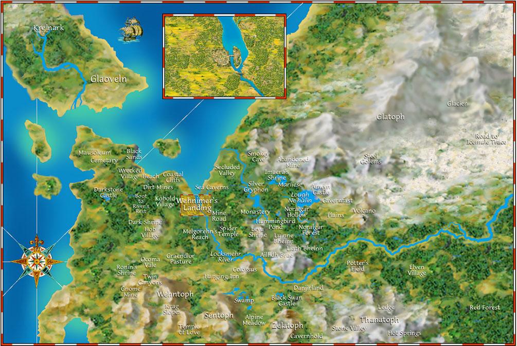 Gemstone World Map.Play Net Gemstone Iv Color Maps Of Elanthia